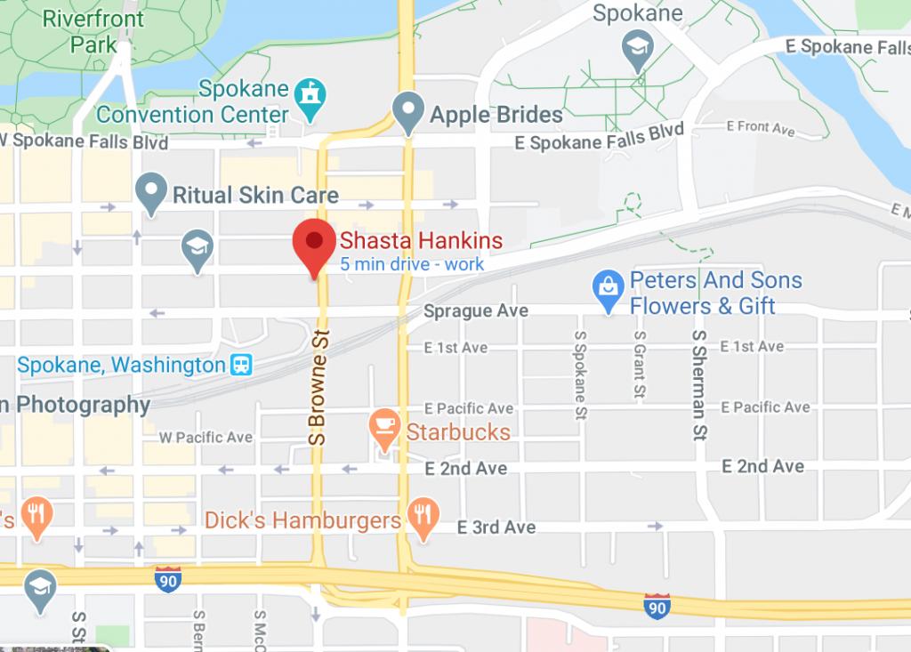 shasta hankins studio google maps